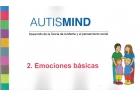 AutisMind 2 Emociones básicas. Desarrollo de la teoría de la mente y el pensamiento social