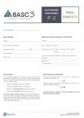 BASC-3 Cuestionario Padres P2 con 25 usos de aplicación y corrección online