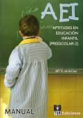 AEI, Aptitudes en educación infantil (preescolar-2)