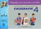 CALIGRAFIC 4. Caligrafía para aprender a escribir.