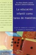 La educación infantil como tarea de maestras. Claves de formación y contexto de desarrollo profesional.