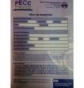 Paquete de 10 hojas de registro de PECC, Prueba para la evaluación de la cognición cotidiana