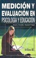 Medición y evaluación en psicología y educación.