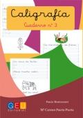 Caligrafía. Cuaderno 3. Pauta Montessori