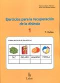 Ejercicios para la recuperación de la dislexia 1 (7-8 años)