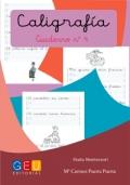Caligrafía. Cuaderno 4. Pauta Montessori