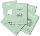 Colección de 24 cuadernos Rubio. Rubio el arte de aprender. Escritura y dibujo