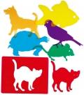 Plantillas translúcidas de mascotas