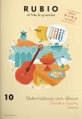 Rubio el arte de aprender. Matemáticas con ábaco 10. Divisiones