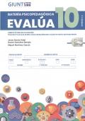 Cuadernillo y corrección de batería psicopedagógica EVALÚA-10