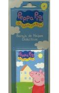 Peppa Pig. Baraja de naipes didácticos