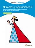 Números y operaciones 9. Santillana Cuadernos. 4º y 5º Primaria