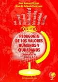 Pedagogía de los valores humanos y ciudadanos. Alumnos/as 2º ciclo E.S.O.