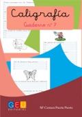 Caligrafía. Cuaderno 7. Pauta Montessori