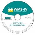 CD de Software Corrección de WMS-IV, Escala de memoria de Wechsler - IV.