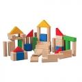 Bloques construcción (50 piezas) Plantoys