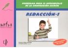 REDACCIÓN - 1. Programa para el aprendizaje de la composición escrita.