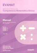EVAMAT. Evaluación de la Competencia Matemática. Volumen 3. Manuales para pruebas 6,7 y 8