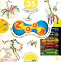 Juego de construcción (Zoob) 35 piezas
