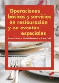 Operaciones básicas y servicios en restauración y en eventos especiales.