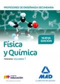 Física y Química. Temario. Volumen 1. Cuerpo de Profesores de Enseñanza Secundaria.