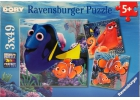 Buscando a Dory 3 puzles x 49 piezas