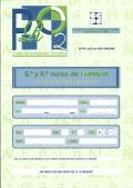 PRO 2. Prueba de Rendimiento Ortográfico. 5º y 6º curso de Primaria. Cuaderno de trabajo del alumno.