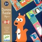 Dominó puzzle animales (28 piezas)