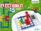 Circuito electrónico 15 experimentos Electrokit.