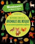 Mi primer libro de los animales del bosque con un montón de fantásticas pegatinas