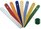 Espátulas plásticas coloridas superficies rugosas (24u.)
