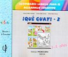 ¡Qué guay! - 2 Actividades lúdicas para el desarrollo cognitivo. 7-8 años