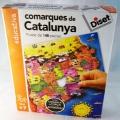 Comarques de Catalunya. Puzzle de 148 peces