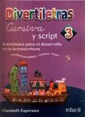 Divertiletras 3. Cursiva y script