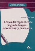 Léxico del español como segunda lengua: aprendizaje y enseñanza.
