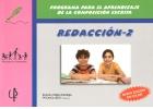 REDACCIÓN - 2. Programa para el aprendizaje de la composición escrita