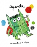 Agenda del monstruo de colores - Castellano