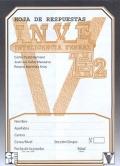 Paquete de 25 Hojas de Respuesta de INVE E2, Inteligencia Verbal.