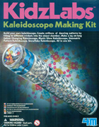 Crea tu caleidoscopio. Kaleidoscope making kit