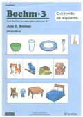 Paquete de 30 cuadernilos de respuesta BOEHM-3, Test Boehm de Conceptos básicos - 3