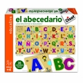 El abecedario. Con letras encajables ¿Qué letras forman el abecedario?