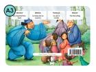 La bolsa de los cuentos. Cuento para kamishibai A3 (Es, En, Fr, It)