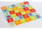 Alfombra de foam letras y números 92 x 92 x 1,2 cm.