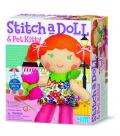 Stitch a Doll & Pet Kitty
