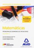 Matemáticas. Cuerpo de Profesores de Enseñanza Secundaria. Problemas de exámenes de oposiciones. Volumen 3