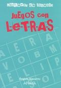 Juegos con letras. Libretas de ingenio.