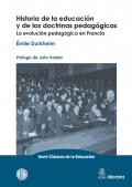 Historia de la educación y de las doctrinas pedagógicas. La evolución pedagógica en Francia.