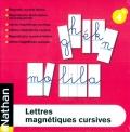 Letras magnéticas cursivas