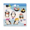 Puzzle Pingüinos Posiciones