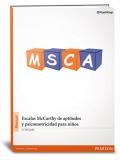 MSCA, Escala McCarthy de aptitudes y psicomotricidad para niños en maleta de viaje.
